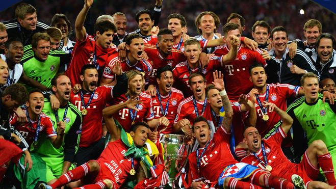 Bayern Munich treb